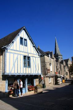 Guerande ~ Travel Around The World, Around The Worlds, Wattle And Daub, Brittany France, Brest, Back In Time, Normandy, France Travel, Places Ive Been