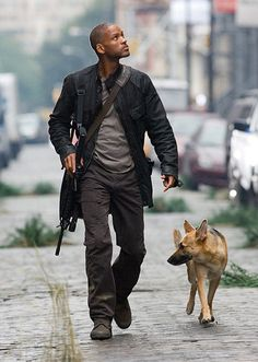 I Am Legend. Not sure I'd classify this as a true vamp film, but that's what it is. And it was good!
