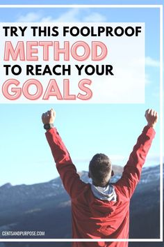 This goal-setting method will help you set solid goals and create a system to track your progress along the way so you can reach your goals. This smart system will teach you what makes a good, specific goal and what doesn't and how to hold yourself accountable along the way! #reachyourgoals Specific Goals, Time Management Tips, Achieve Your Goals, Financial Goals, Budgeting Tips, Mindful Living, Finance Tips, Along The Way, Personal Finance