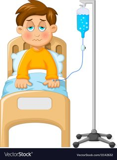Little boy was impus in the hospital Royalty Free Vector Picture Comprehension, Animation Stop Motion, Well Images, Classroom Birthday, Birthday Frames, Chibi Characters, Kids Education, Pre School, Cute Cartoon