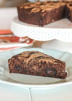 This Banana Cocoa Cake with Almond Butter Swirl will satisfy your chocolate cravings without breaking your diet. This cake is Paleo, gluten-free, sweetened almost entirely with bananas, and healthy enough for breakfast!