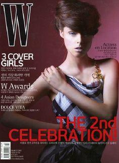 Coco Rocha - W South Korea Magazine (March 2007)