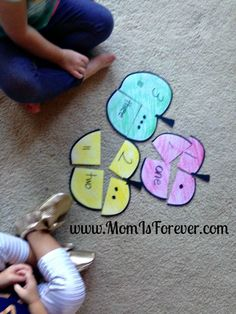 Apple Puzzles for Teaching Numbers - Mom Is Forever