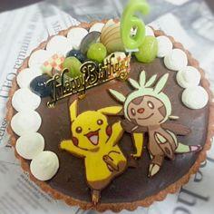 長男くんのお誕生日ケーキ!!! 最近大好きなポケモンキャラチョコで(・∀・) - 24件のもぐもぐ - 長男6歳のbirthdayケーキ by kjjj2430
