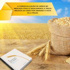 """""""A comercialização de grãos no mercado físico é basicamente a troca imediata do grão por dinheiro à vista ou a prazo. A comercialização de grão obedece aos parâmetros de padrão e qualidade estabelecimentos por leis. A classificação vegetal tem como objetivo classificar e certificar a qualidade do grão e promover a segurança alimentar. No Brasil, a classificação vegetal é determinada pelo Ministério da Agricultura, Pecuária e Abastecimento – MAPA..."""" Saiba mais sobre o assunto no livro """"O…"""