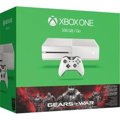 Xbox One White 500GB Gears of War Special Edition Console Bundle - Walmart Exclusive.  Hey, visit http://robflorexplore.com/walmart.com to get more great deals.  Hurry, go there now!