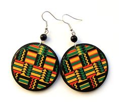 Black Friday Etsy Cyber Monday Etsy African Earrings by SaboDesign, $19.00