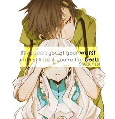 'Láttalak a legrosszabb pillanatodban, és még mindig úgy gondolom, hogy te vagy a legjobb'