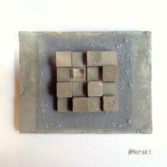My Meraki   pixel      Cemento, rete metallica, plexiglass, legno.