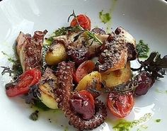 Squiddly Diddly has nothing on this dish - octopus at Bar8atGastrovino #Chelsea #foodporn
