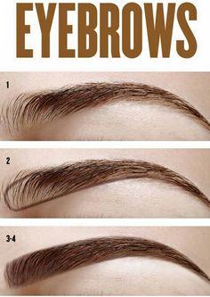 Easier Way To Groom Your Eyebrows | Eyebrow, Tutorials and Easy