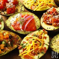 5 Ways to Top Avocado