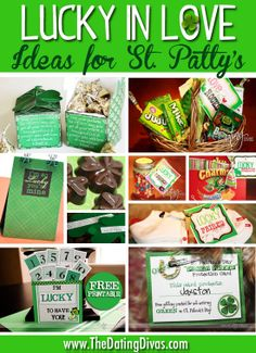 Love this!  LOTS of ideas to do for {and with} your love on St. Patrick's Day.