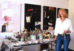 Sylvia McEwan in the Studio   Yellowtrace