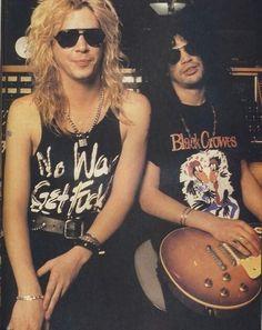 Duff MCKAGAN & Slash
