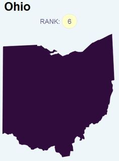 Ohio ranks 6th in the Ovarian Cancer National Alliance's new ovarian cancer report card