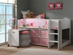 Łóżko piętrowe dla dzieci - Księżniczka http://dladziecka-net.pl/