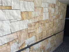 Sandstone Colonial Walling Random, Beige Sandstone for Building & Walling