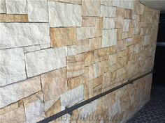 Sandstone Colonial Walling Random, Beige Sandstone for Building & Walling