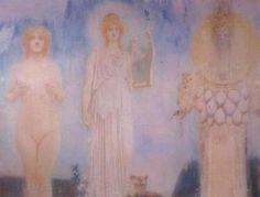 venusmilk:    Fernand Khnopff, Orpheus 1913