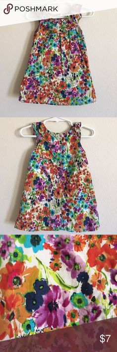 Old Navy 6-12M sundress, watercolor floral Old Navy 6-12M sundress, watercolor floral Old Navy Dresses Casual