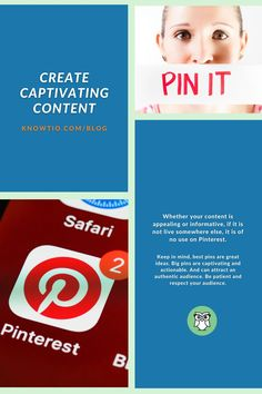 Whether your content is appealing or informative, if it is not live somewhere else, it is of no use on Pinterest. Learn more on how to use Pinterest like a Pro! #knowtio #knowtio411 #socialmediablogger #newblogpost #digitalmarketing #pinterestmanagement #socialmediachannel #websitetraffice #seo Like A Pro, In A Nutshell, Pinterest For Business, Keep In Mind, Virtual Assistant, Being Used, Seo, Digital Marketing, How To Become