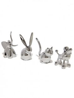 Ring Trees! One for each sink in the house! I would like the: 1) Elephant, 2) Giraffe, & 3) Rabbit
