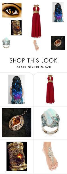 """The Nymph is free"" by sara598d on Polyvore featuring Nexus, Italian-Design and Deepa Gurnani"