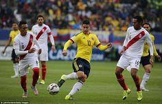 ¡CONFIRMADO! James Rodríguez se recuperó y jugará ante Perú por las Eliminatorias