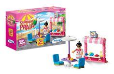 0529.8 - Blocos de Encaixe Quiosque da Praia | Contém 50 peças. | Faixa Etária: +6 anos | Jogos e Brinquedos | Xalingo Brinquedos | Crianças