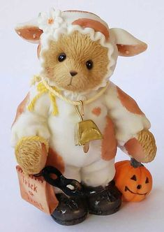 Heidi´s Cherished Teddies Galerie: ILSE - Have A Moo-Velous Halloween (4002850)