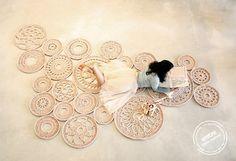 big scale handmade MODULAR crochet rug ENTRE by entrelacadas