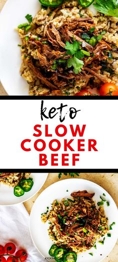 Slow Cooker Shredded Beef Is Perfect For Tacos, Sandwiches, And Bbq The Chipotle Flavors Especially Lends Itself To Mexican Dishes. Stewing pot Recipes Like This One Deserve To Become A Habit. Keto, Low Carb and Gluten Free. Keto Crockpot Recipes, Slow Cooker Recipes, Cooking Recipes, Slow Cooker Shredded Beef, Slow Cooker Beef, Low Carb Dinner Recipes, Lunch Recipes, Keto Dinner, Soup Recipes