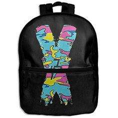 Kids Backpack Jake Paul X Camouflage Logo School Hiking Travel Shoulder Bag Small Daypack For Boys Girls - travel.boutiquecl...  <b>Backpack Dimensions:</b><br /><br />13.4\