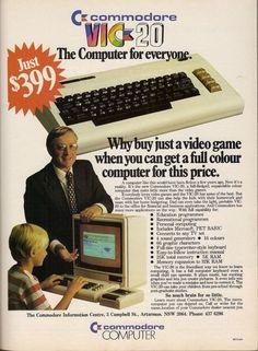 Computer Technology, Gaming Computer, Vintage Advertisements, Vintage Ads, Alter Computer, Nostalgia, 8 Bits, Just A Game, Old Ads