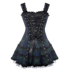 Robe Ecossaise Tartan | ROBES GOTHIQUES | GOTHIC