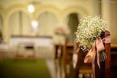 Resultado de imagem para decoração de casamento igreja