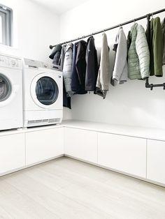 Pantry Room, Home Carpet, Laundry Closet, Industrial Bathroom, Laundry Room Design, Apartment Interior Design, Küchen Design, Ikea Hack, Interior Inspiration