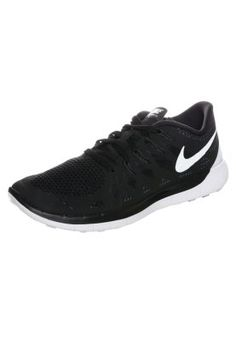 Bestill Nike Performance FREE 5.0 - Trainers - black/white/anthracite for kr 1 095,00 (08.02.15) med gratis frakt på Zalando.no