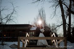 Christina (plus) Nathan - two of the top Calgary wedding photographers for over a decade. Their award winning photography is filled with real moments. Award Winning Photography, Calgary, Wedding Photos, Wedding Photography, In This Moment, Winter, Marriage Pictures, Wedding Shot, Winter Time