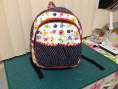Dinha ateliê patchwork: PAP Mochila infantil