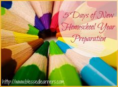 New homeschool year has been very exciting for almost every homeschooling parents and children. 5 Days of New Homeschool Year Preparation might help you to prepare your new homeschool year preparation. This is the time to start some new things and to fix the previous flaws that were made. Of course every family has its …