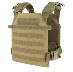Condor Sentry Lightweight Plate Carrier Coyote Tan | Bushcraft | Airsoft | Prepping