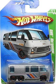 GMC Motorhome Hot Wheels 2009 Treasure Hunt - HWtreasure.com