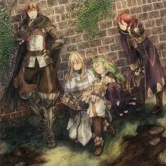 Fire Emblem:Awakening // Gaius-Libra-Nowi-Morgan