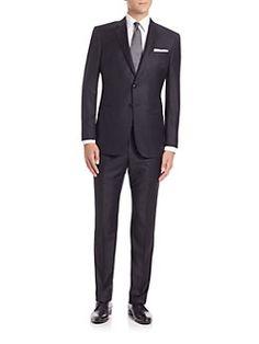 Giorgio Armani - Wall Street Wool & Cashmere Suit