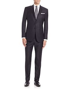 Giorgio Armani - Wall Street Wool & Cashmere Suit