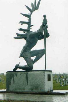 Katyn Forest Monument Polish Hussar Poland History, Poland Travel, Large Art, Monuments, Polish Symbols, Retro, Places To Visit, My Heritage, Historia