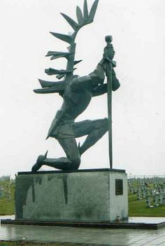 Katyn Forest Monument Polish Hussar