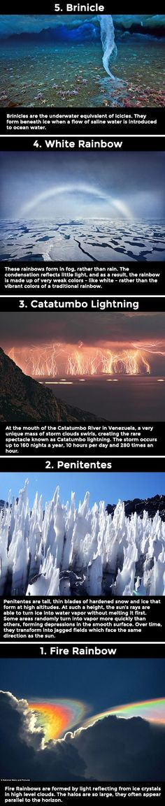 Spectacular but super rare weather phenomena鈥 never knew this happens on our planet!